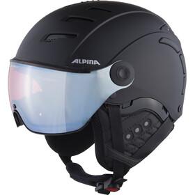 Alpina Jump 2.0 QVMM Casque de ski, black matt silver